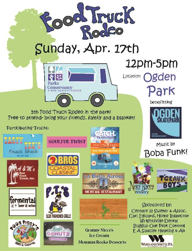 The Parks Conservancy Of New Hanover Countyfood Truck