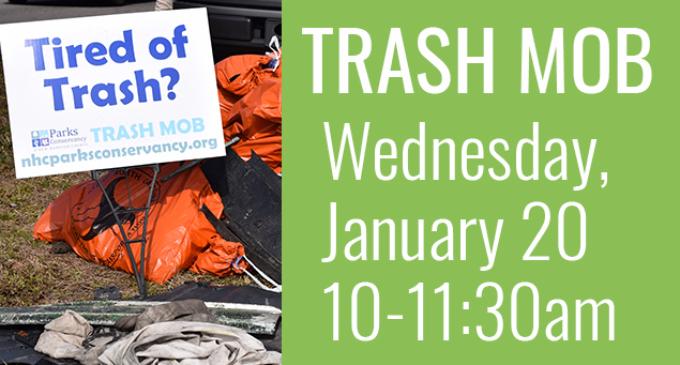 Jan 20 Trash Mob